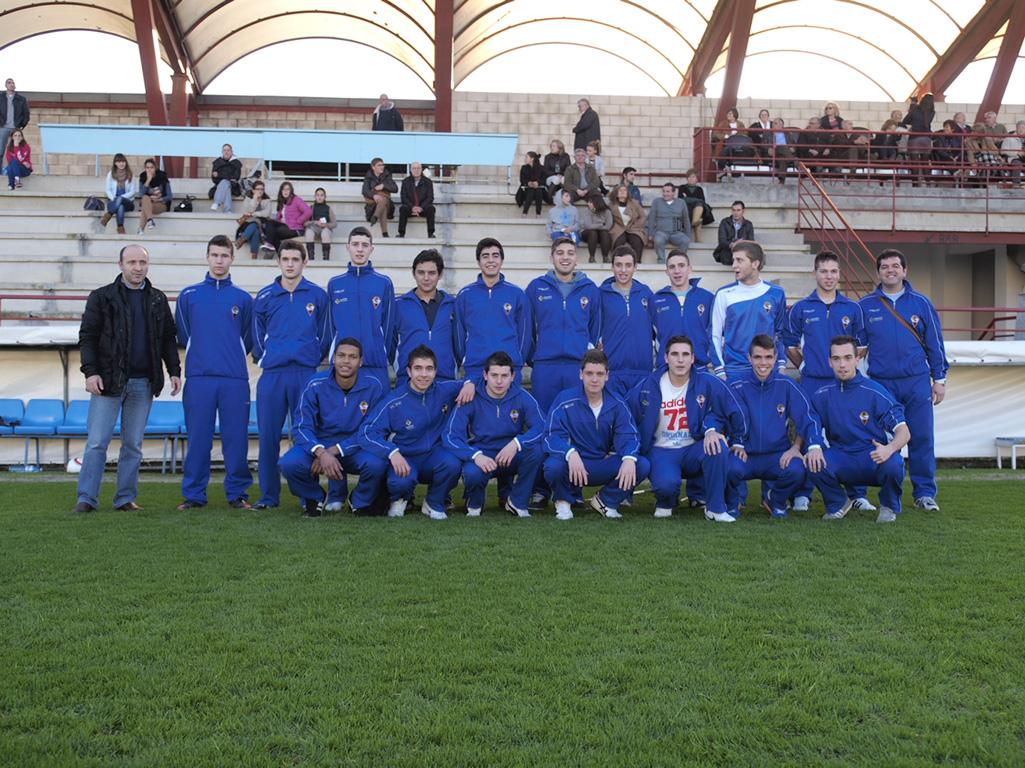 plantilla Gran Peña juvenil 2012/2013
